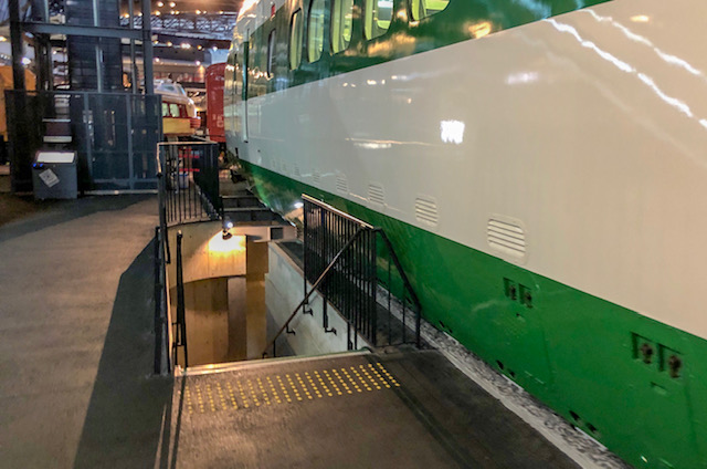 鉄道博物館・車両ステーション(200系東北上越新幹線用)