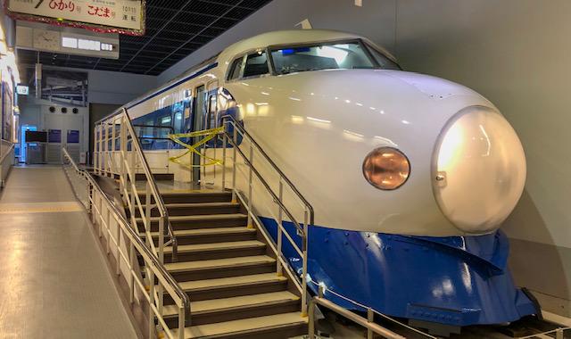 鉄道博物館・車両ステーション(0系東海道新幹線用)