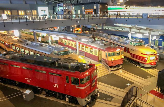 鉄道博物館・車両ステーション3