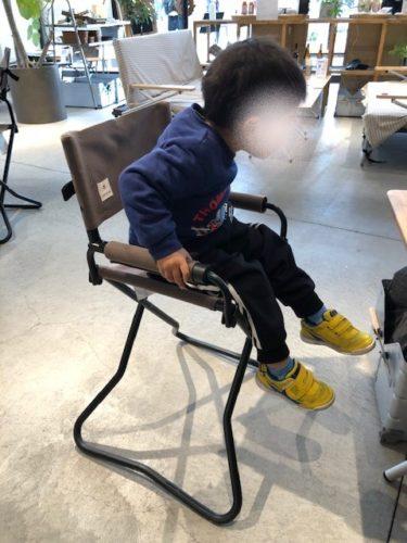 スノーピークイート・子供椅子