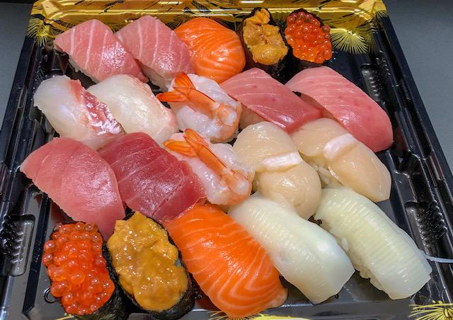 生鮮市場・お寿司セット