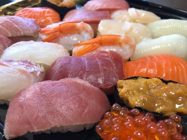 生鮮市場・お寿司セット(拡大)