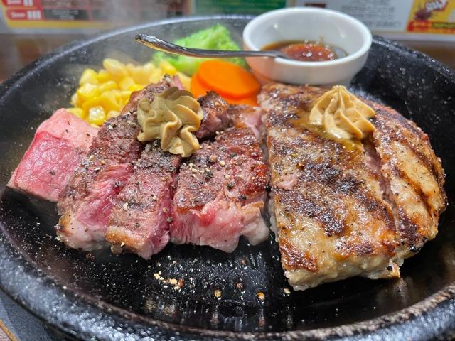 いきなりステーキ・ワイルドコンボ