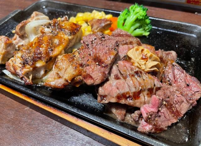 いきなりステーキ・テンダーコンボ