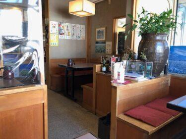ときわ・店内風景1(テーブル席)