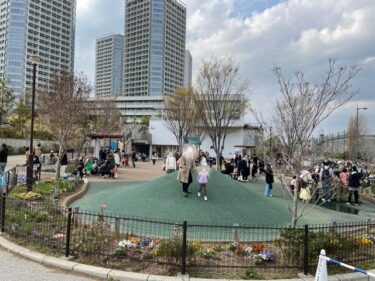二子玉川公園・遊具の遊び場1