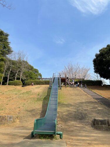 新石川公園・滑り台