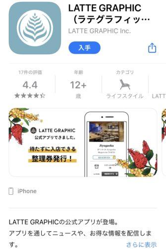 ラテグラフィック・アプリ