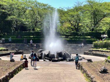 四季の森公園・噴水広場