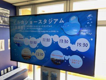 新江ノ島水族館・イルカショースタジアムのスケジュール