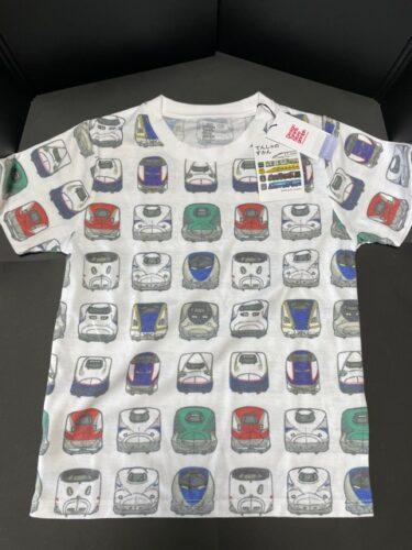 グラニフ ・電車の子供Tシャツ