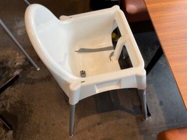 ワイアードキッチン・子供椅子