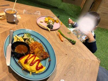 ファーマーズキッチン・食事風景