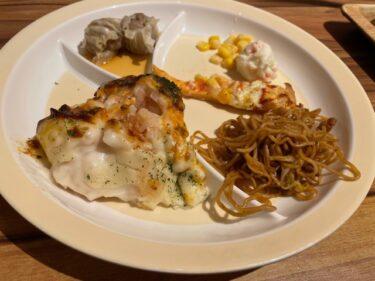 ブッフェザフォレスト・料理1