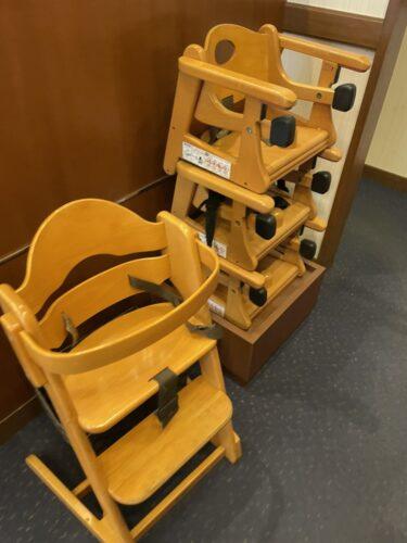 ロイヤルホスト・子供椅子