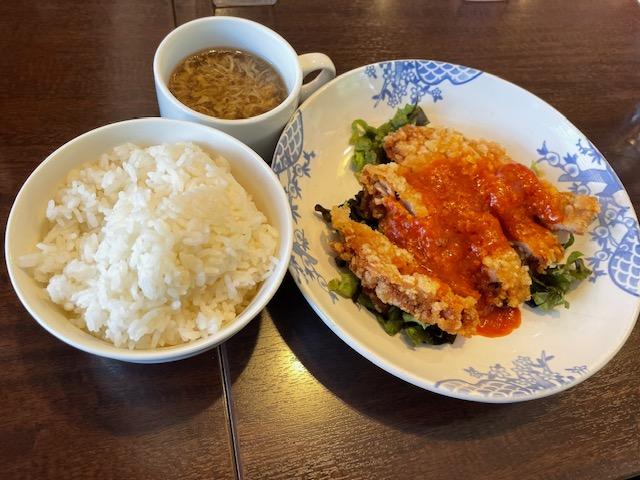 バーミヤン・日替わり(チキンのチリソース)